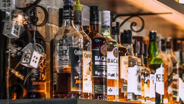 The Fully Stocked Backyard Bar