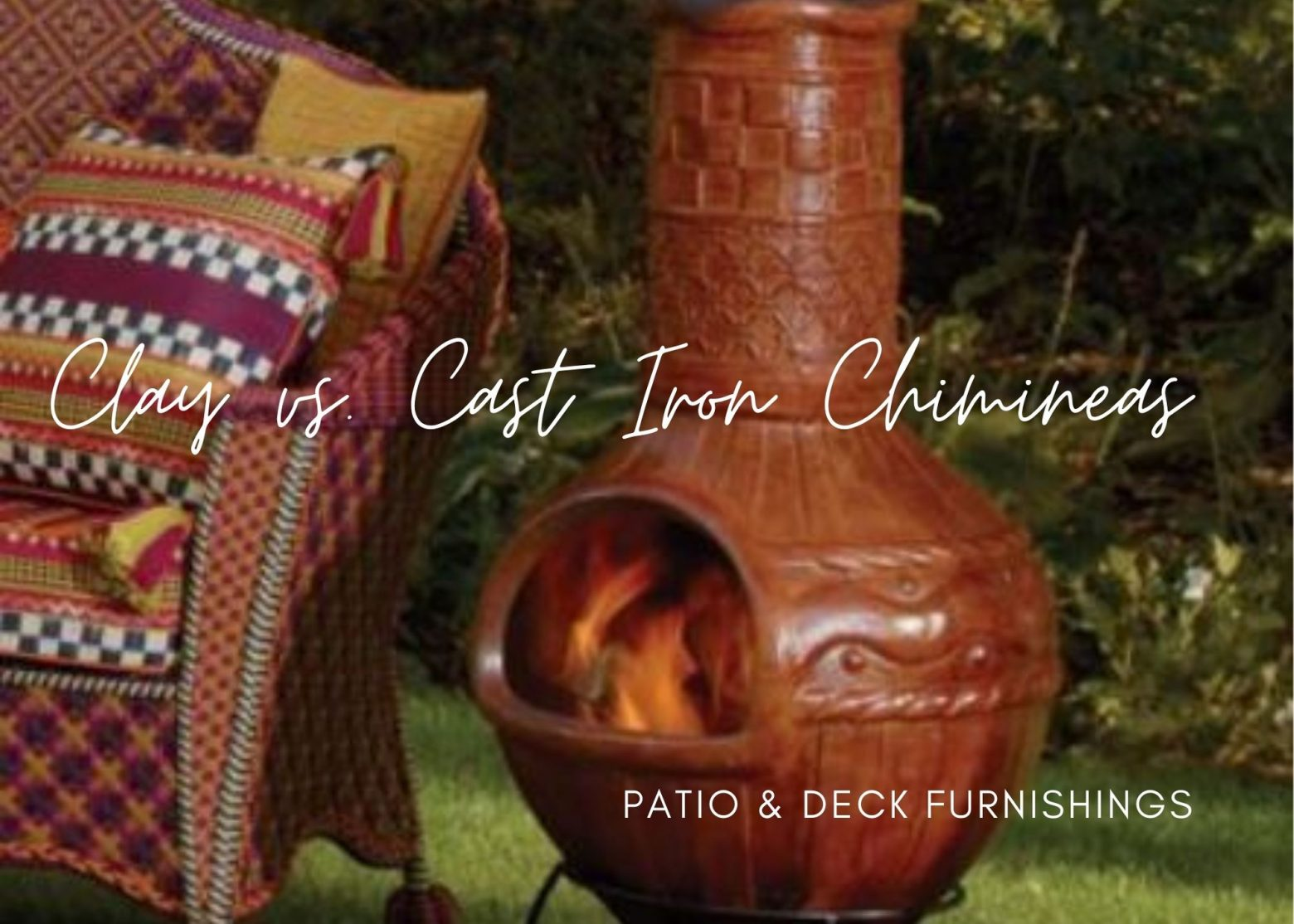 Clay vs Cast Iron Chiminea: Which Look Will Inspire Your Backyard Design?