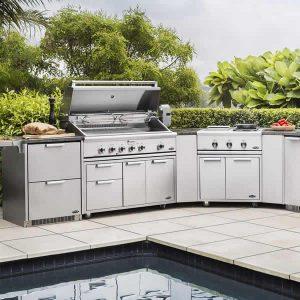 modular outdoor BBQ island 304 Stainless Steel