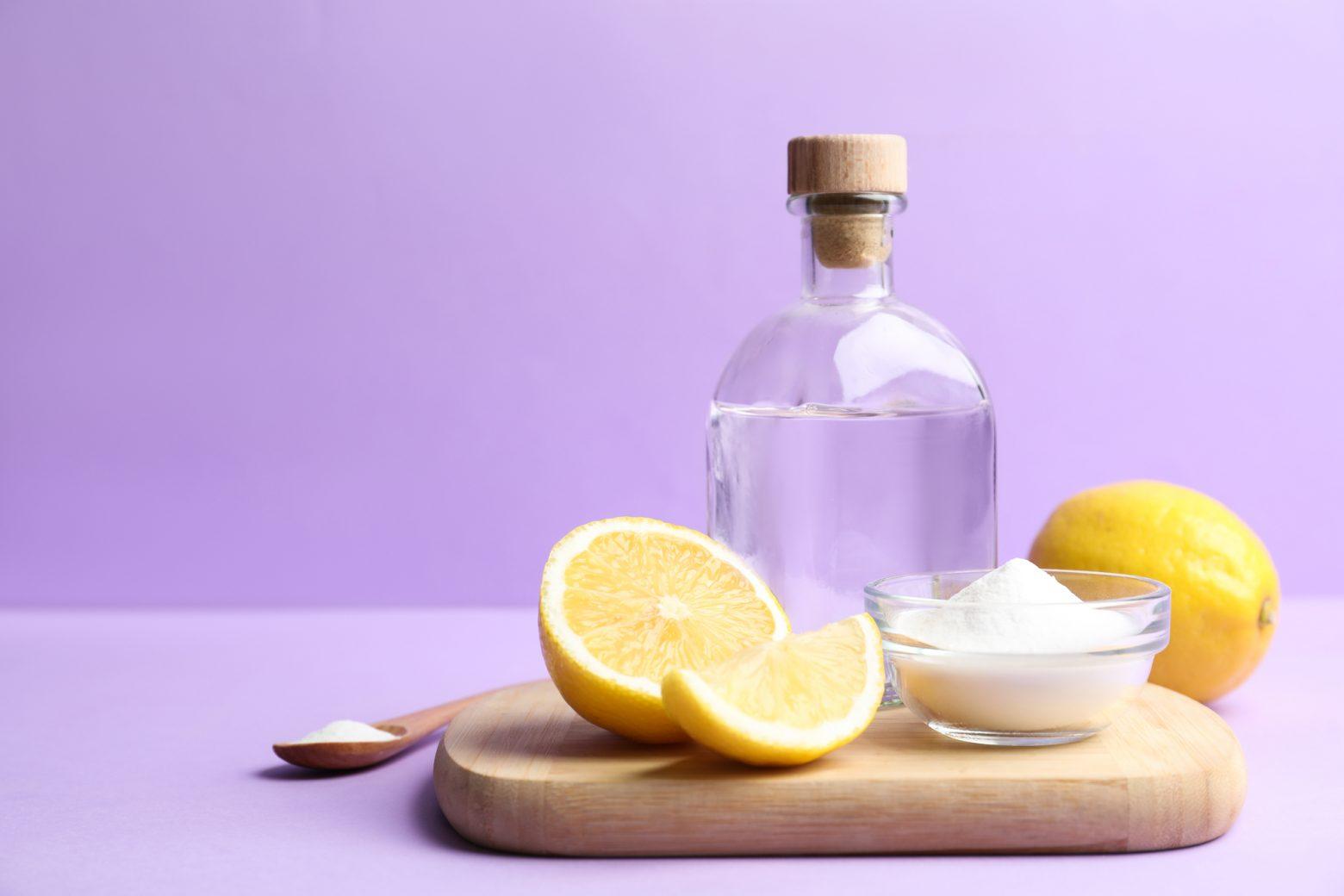 natural grill cleaners baking soda vinegar and lemons
