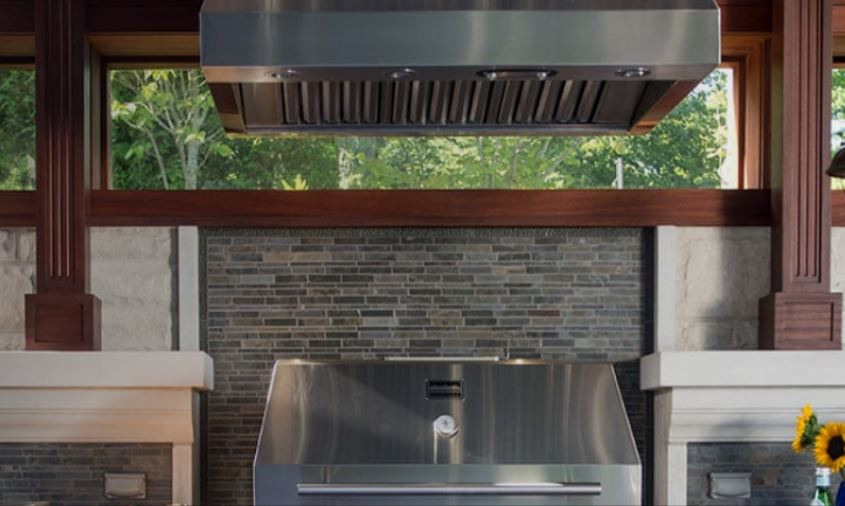 vent outdoor kitchen how to do it