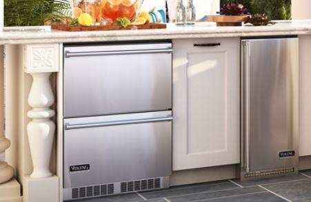 outdoor kitchen refrigerators