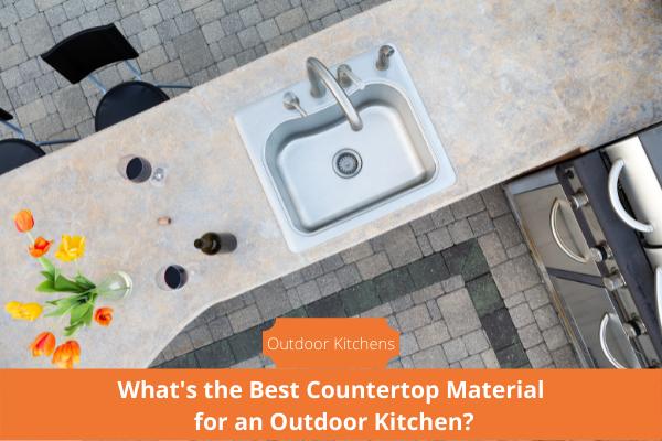 best outdoor kitchen countertop materials